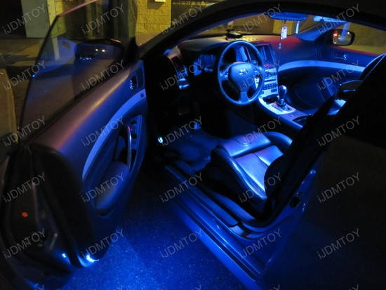 Infiniti - G37 - coupe - LED - panel - lights - interior - map - dome - lights - 1